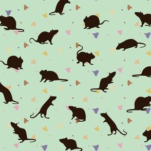 Rats and Yogies - Mint Agouti