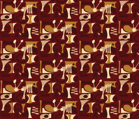 Mauna Loa fabric by theaov on Spoonflower - custom fabric