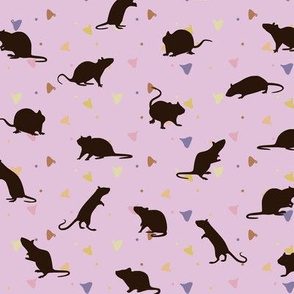 Rats and Yogies - Strawberry Agouti