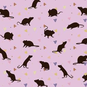 Rats and Yogies - Strawberry Agouti