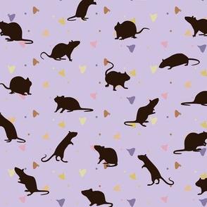 Rats and Yogies - Berry Agouti