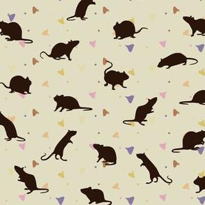Rats and Yogies - Vanilla Agouti