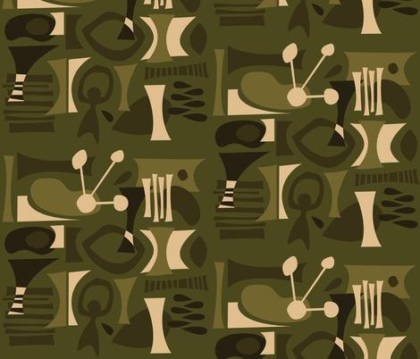 Hualalai fabric by theaov on Spoonflower - custom fabric