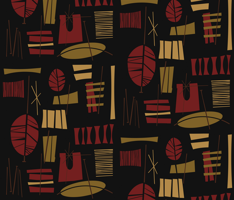 Fonualei fabric by theaov on Spoonflower - custom fabric