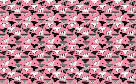 Undies fabric by emandsprout on Spoonflower - custom fabric