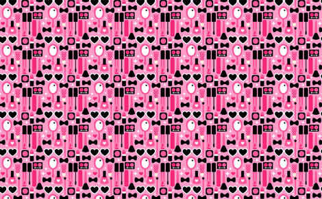 Makeup fabric by emandsprout on Spoonflower - custom fabric