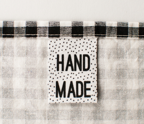 Handmade Clothing Label
