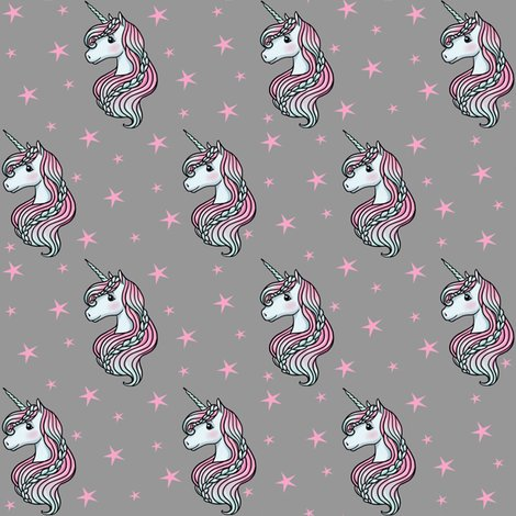 Rrrgray_unicorn_pink_stars_shop_preview