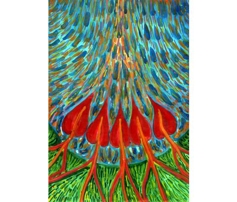 Penetration fabric by wojtekkowalski on Spoonflower - custom fabric