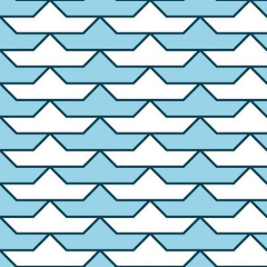 paper boat 1x 2 : sailing
