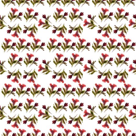 Lily fabric by ivankacostru on Spoonflower - custom fabric