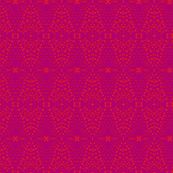 Carmine Dotty Raspberry Magenta Red