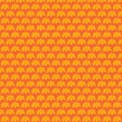Carmine Posey Orange Saffron Yellow