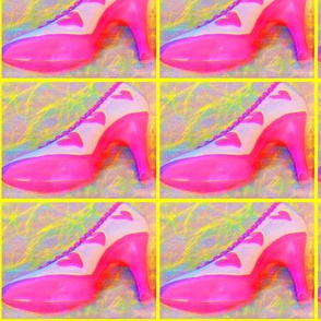 Pink chocolate shoe