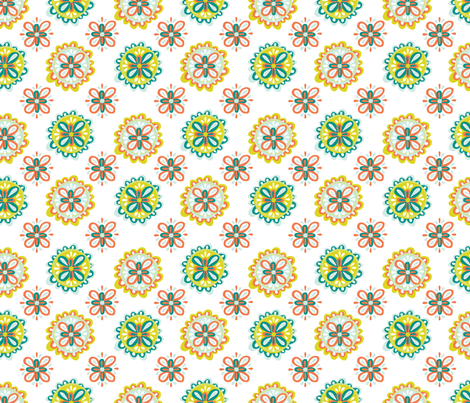 Hand Drawn Mandalas fabric by mandy_ford on Spoonflower - custom fabric