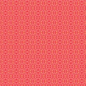Carmine Petals Red Pink Orange