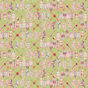 motif_plume_fl_che_fond_vert_M