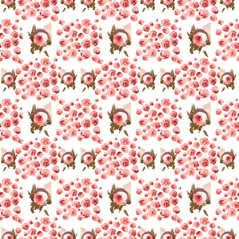 Rosie fabric by ivankacostru on Spoonflower - custom fabric
