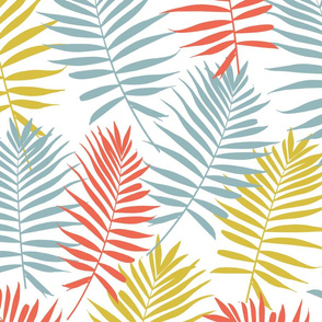 Tri-Color Palm Leaves