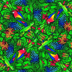 Rainforest Tessellation
