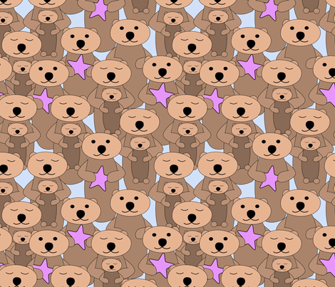 sea_otters fabric by pamelachi on Spoonflower - custom fabric