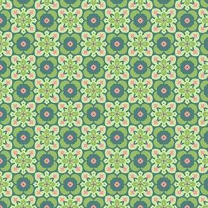 Cactus Tiles: Green