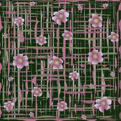 Floral_plaid_Green