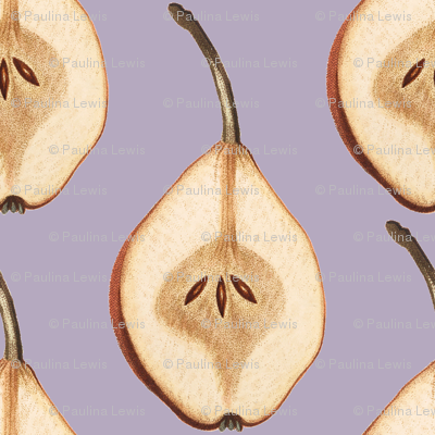 Shout Out to All the Pear on Plum