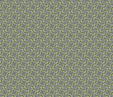 green petals fabric by twigsandblossoms on Spoonflower - custom fabric