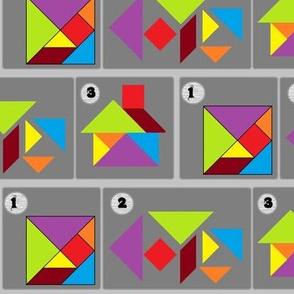 Tangram 1-2-3