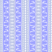 Tribal Swan Stripe Lavender