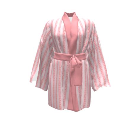 Deco Swan Stripe Deco Pink