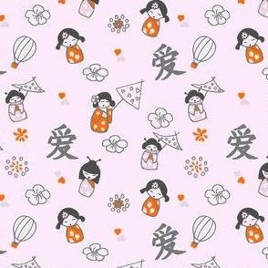 China Dolls orange