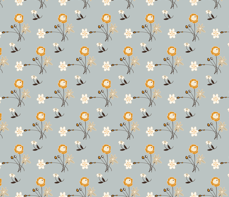 Birdsong spring blossom large print wallpaper for Large print wallpaper