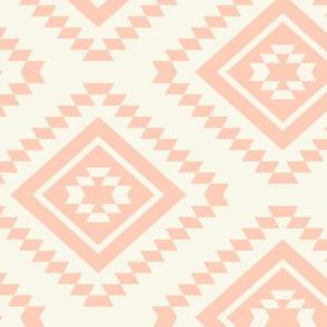 Aztec -  Blush/Ivory