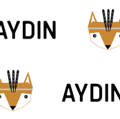 Aydin  fox head feather crown white background