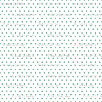 She is Fierce / Polka Dots / Minty Green