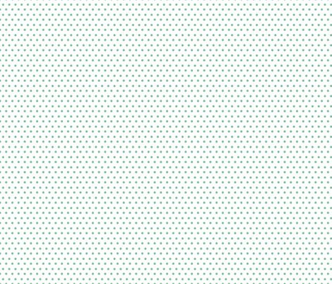 She is Fierce / Polka Dots / Minty Green fabric by shopcabin on Spoonflower - custom fabric