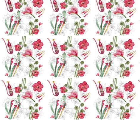 borneo_flora fabric by jenesy_claire_designs on Spoonflower - custom fabric