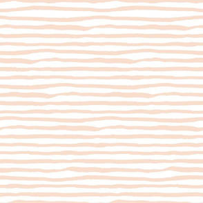 Light Peach Stripes / She is Fierce