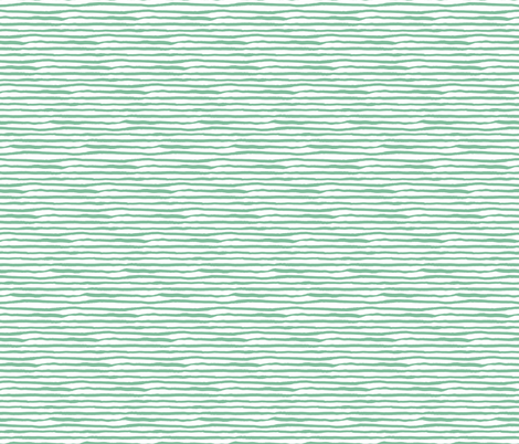 She is Fierce / Green Stripes / MIX & MATCH fabric by shopcabin on Spoonflower - custom fabric