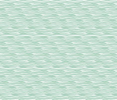 She is Fierce / Green Stripes / MIX & MATCH fabric by shopcabin on Spoonflower - custom fabric