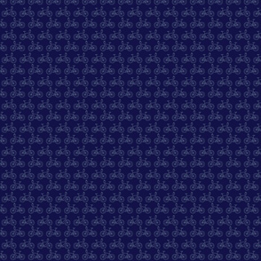 Blue Bike Pattern
