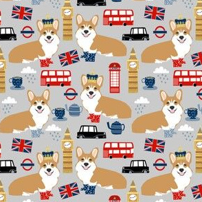 Corgis in London - medium scale