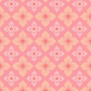 Cactus Tile Flowers
