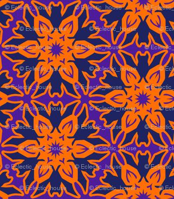 Batflake with Orange and Purple