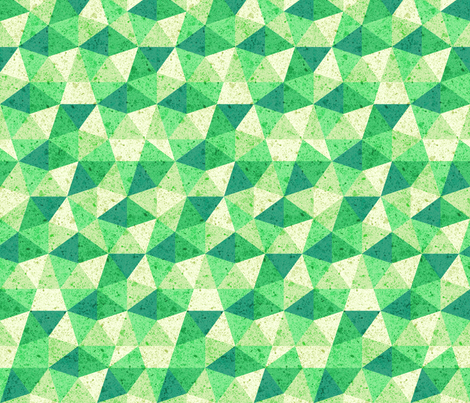 green-geodesic fabric by gaiamarfurt on Spoonflower - custom fabric