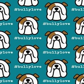 English Bulldogs + your heart = bullylove
