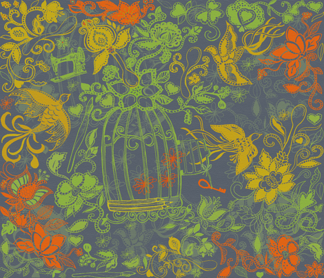 Design with removal of spoonflower logo fabric by honoluludesign on Spoonflower - custom fabric