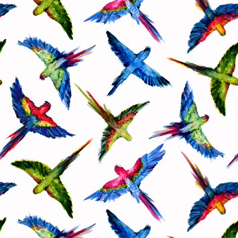 Free as a Bird fabric by brittany_vogt on Spoonflower - custom fabric
